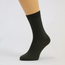 klasické ponožky žebrované