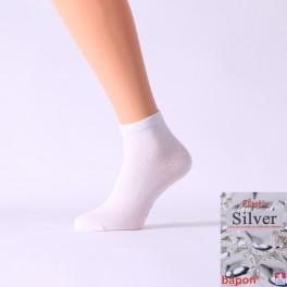 nízké ponožky s nanočásticemi stříbra