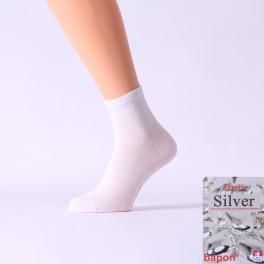 polovysoké ponožky s nanočásticemi stříbra